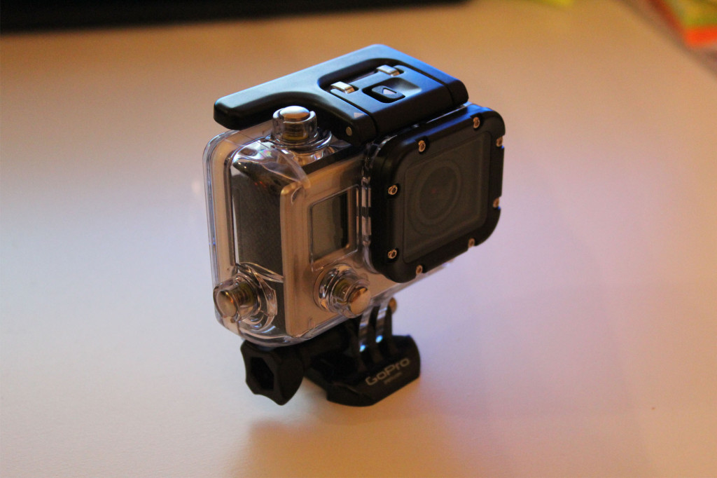 Kamera kotelossa
