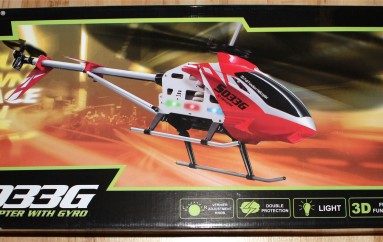 Syma S033G RC helicopter