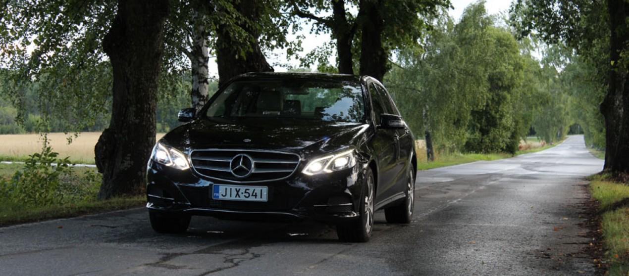 Koeajossa: Mercedes-Benz E200 (2013)