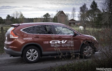 Koeajossa: Honda CR-V 1.6 i-DTEC