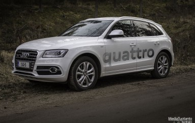 Koeajossa: Audi SQ5 (2014)