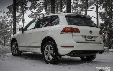 Koeajossa: Volkswagen Touareg (2014)