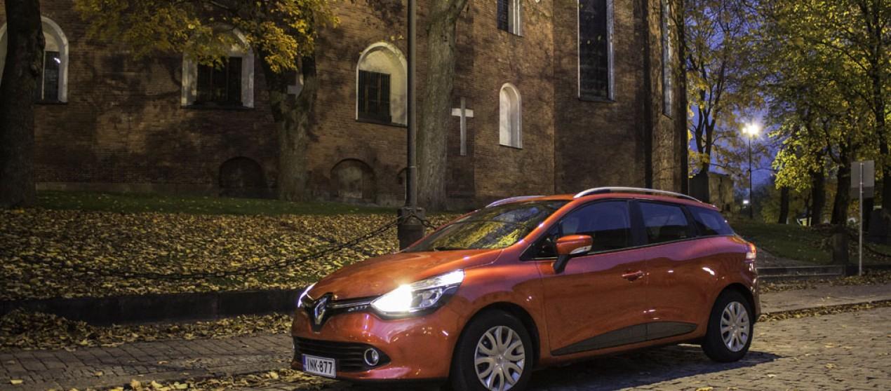 Koeajossa: Renault Clio Sport Tourer
