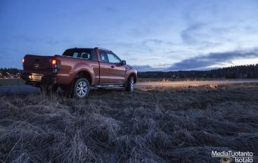 Koeajossa: Ford Ranger WildTrak (2015)