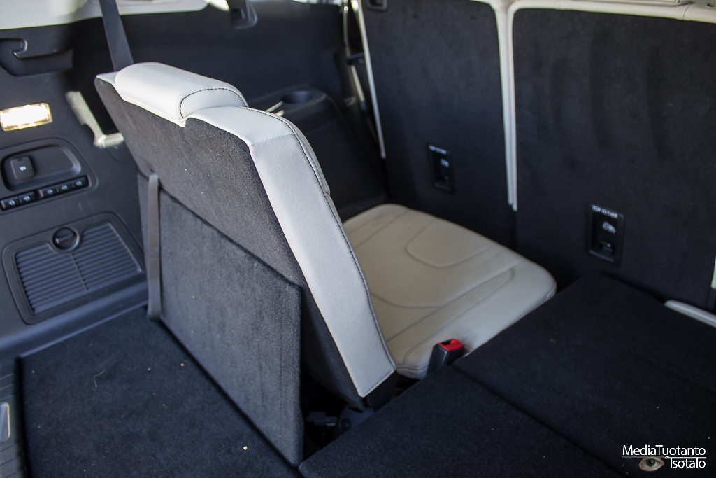 Ford S-MAX rear seats